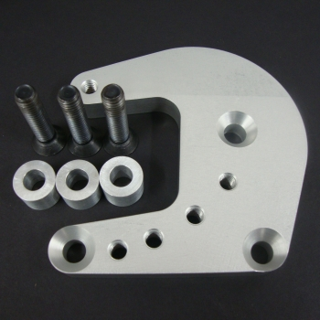 SB Ford cylinder head adaptor plate (Pump mounting bracket not included)